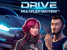 Автомат Drive: Multiplier Mayhem от NetEnt
